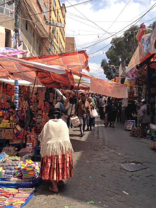 Was gibt es hier eigentlich nicht? La Paz, Bolivien (Foto Jörg Schwarz)
