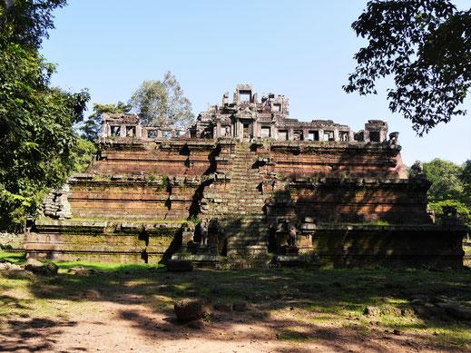 Der Phimeanakas-Tempel gibt den Archäologen einige Rätsel auf, Phimeanakas, Kambodscha (Foto Jörg Schwarz)