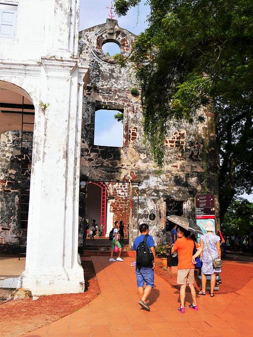Koloniales Erbe der Portugiesen... Melaka, Malaysia (Foto Jörg Schwarz)