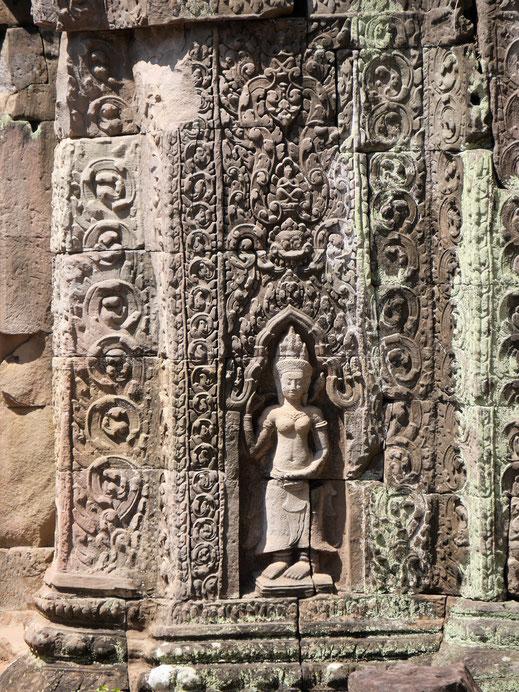 Seine Devatas gehören ganz sicher zu den Schönsten, Preah Khan, Kambodscha  (Foto Jörg Schwarz)