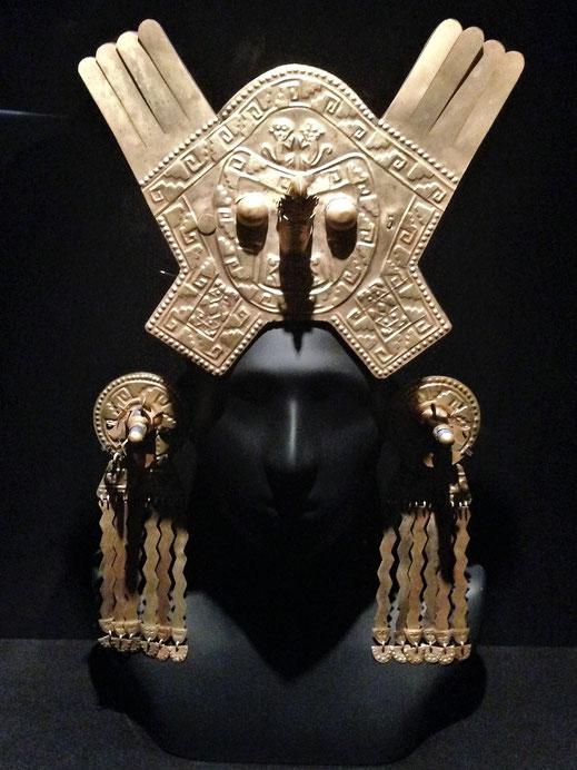 Grabbeigaben aus purem Gold, Lima, Peru (Foto Jörg Schwarz)