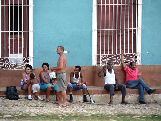 Am Barrio Los Tres Cruces, Trinidad, Kuba (Foto Jörg Schwarz)