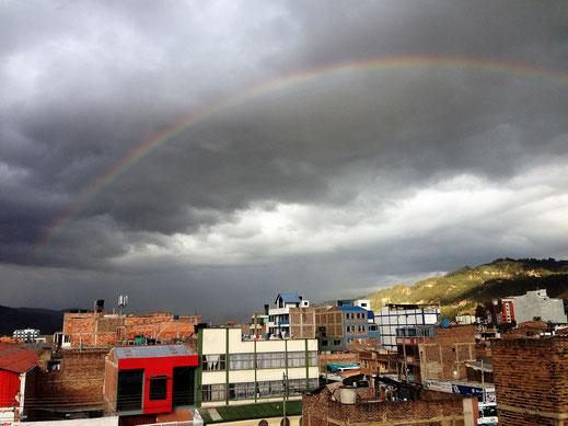 Über den Dächern von Sogamoso... Kolumbien (Foto Jörg Schwarz)