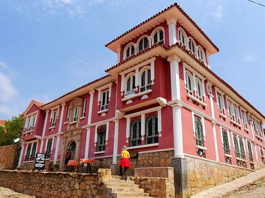 Unser fantastisches Hostel, Toro Toro, Bolivien (Foto Jörg Schwarz)