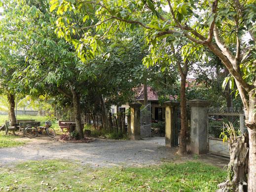 Idylle pur: Meas Homestay, bei Takeo, Kambodscha (Foto Jörg Schwarz)