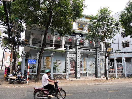 Can Tho ist eine ganz hübsche Stadt mit viel Grün... Can Tho, Vietnam (Foto Jörg Schwarz)
