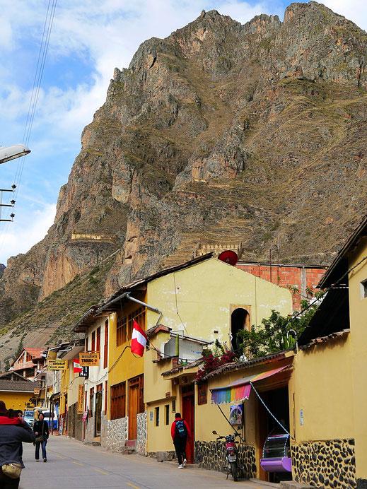 Im moderneren Teil der Stadt, Ollantaytambo, Peru (Foto Jörg Schwarz)