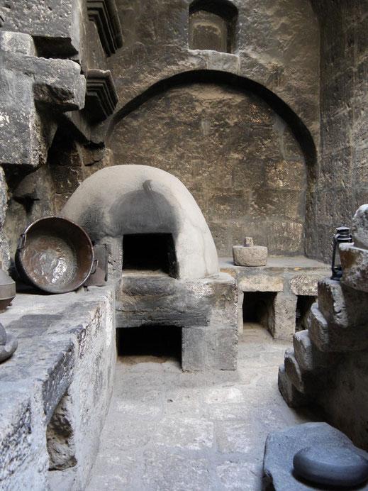 Küchenraum einer Klosterwohnung, Arequipa, Peru (Foto Jörg Schwarz)