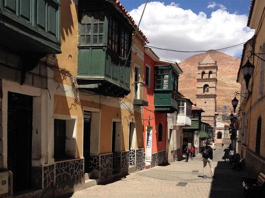 Die Altstadt Potosís ist ein toller Anblick, Potosí, Bolivien (Foto Jörg Schwarz)