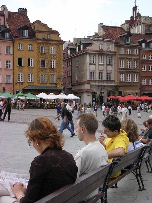 Warschau - das Stadtbild alt, die Menschen jung und dynamisch! (Foto Jörg Schwarz)
