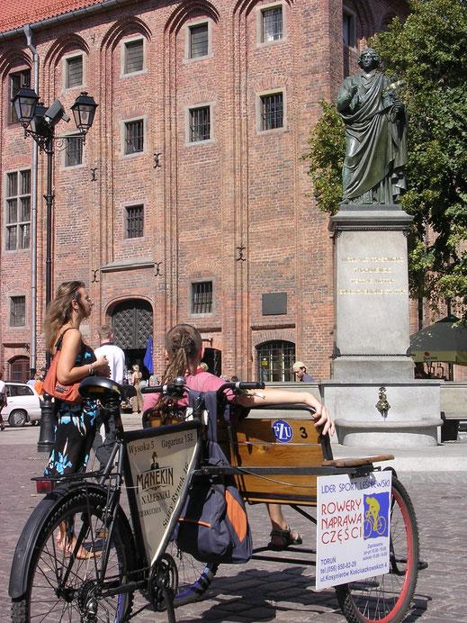 Der berühmteste Bürger der Stadt: Kopernikus (Foto  Jörg Schwarz)