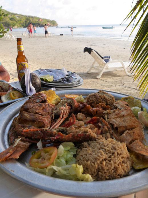 Kulinarisch ist die Insel eher karibisch denn kolumbianisch... Providencia, Kolumbien (Foto Jörg Schwarz)