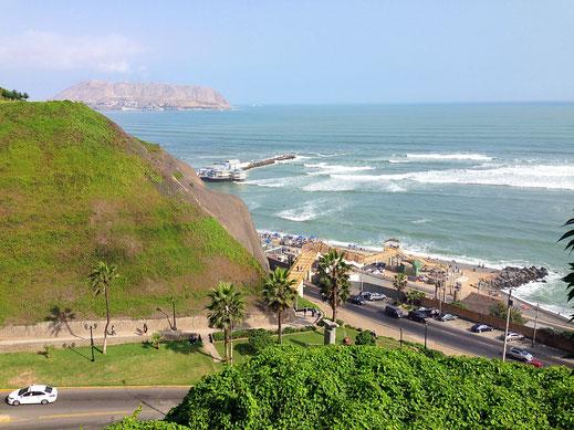 Der Pazifik, Miraflores, Lima (Foto Jörg Schwarz)