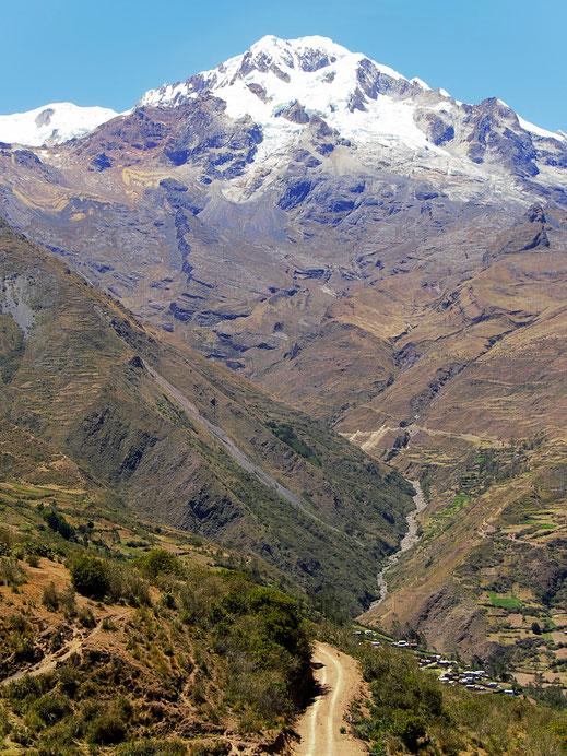 Die Hälfte der Strecke ist geschafft! Sorata, Bolivien (Foto Jörg Schwarz)