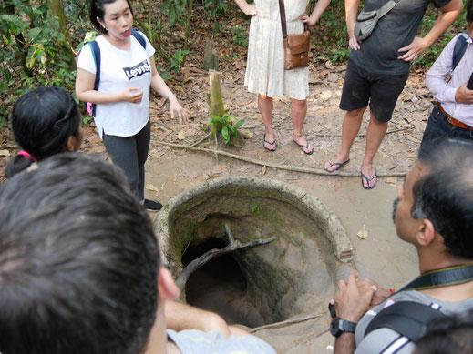 Ursprünglich natürlich besser getarnt... Cu Chi, Vietnam (Foto Jörg Schwarz)