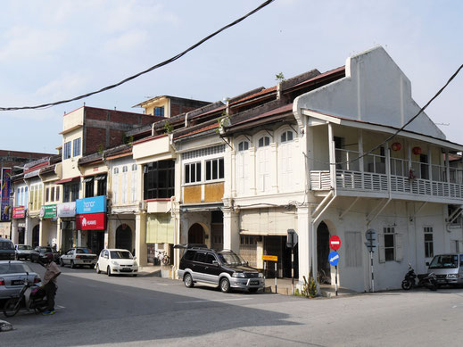 Wir bummeln auch noch durch die Altstadt von Kuala Kangsar, Malaysia (Foto Jörg Schwarz)