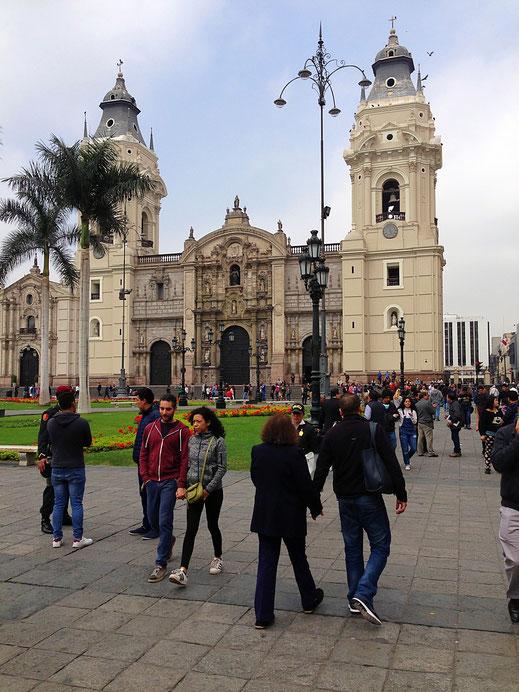 Limas Kathedrale, Centro, Lima (Foto Jörg Schwarz)
