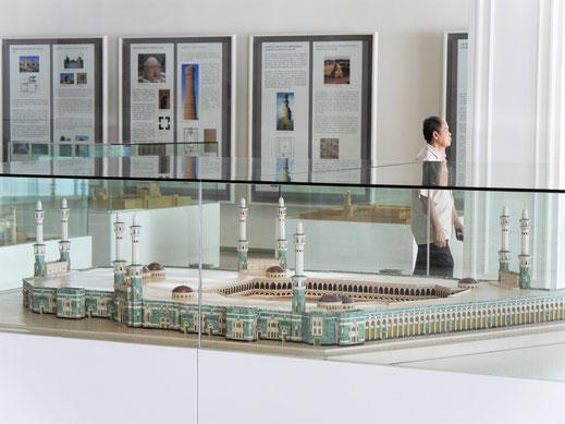 Das Museum zeigt an Modellen die gesamte Vielfalt der islamischen Moscheen-Architektur, Kuala Lumpur, Malaysia (Foto Jörg Schwarz)