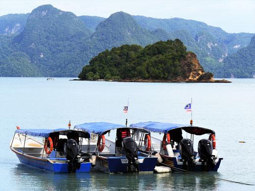 Typische Szenerie an der Küste Langkawis, Malaysia (Foto Jörg Schwarz)