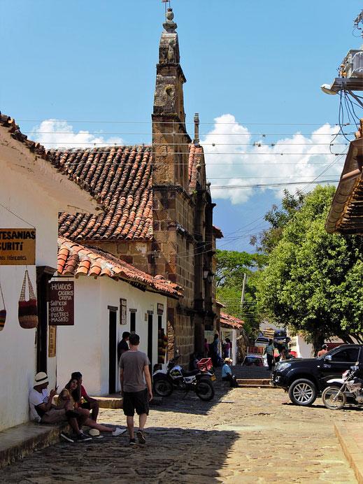 Ankommen in Guane, Barichara, Kolumbien (Foto Jörg Schwarz)
