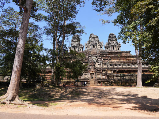 Ein beeindruckendes, sehr kompaktes Bauwerk, Ta Keo, Kambodscha (Foto Jörg Schwarz)