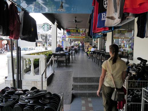 Dann eben heute ein bisschen durch die Stadt... Morgen ist auch noch ein Tag zum Wandern, Tanah Rata, Malaysia (Foto Jörg Schwarz)