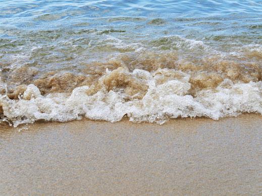 Wie auch immer: Nach gefühlten Monaten ohne Strand genießen wir diesen hier ausgiebig...  Koh Kong Island, Kambodscha (Foto Jörg Schwarz)