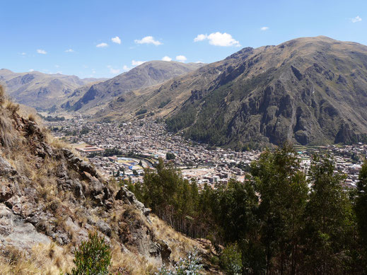 Wenn man das Waldstück verlassen hat... Huancavelica, Peru (Foto Jörg Schwarz)