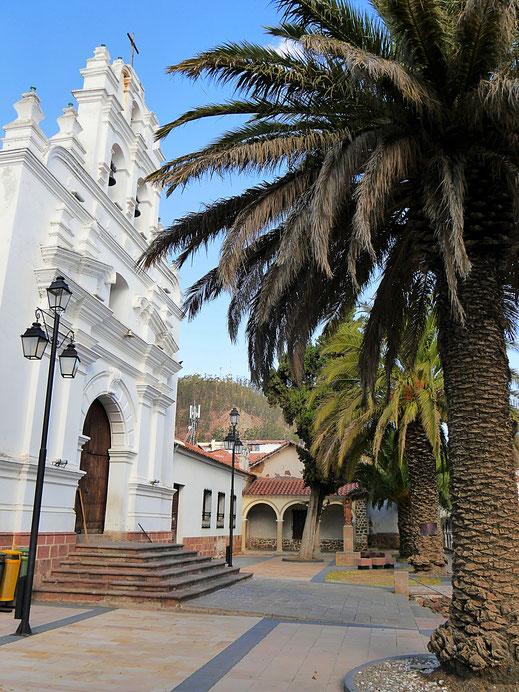 Eine der schönsten Kirchen in Sucre, Sucre Bolivien (Foto Jörg Schwarz)