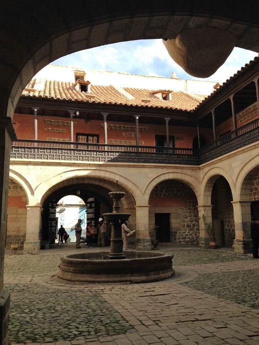 In der Casa Nacional de la Moneda - die ehemalige Münzprägeanstalt... Potosí, Bolivien (Foto Jörg Schwarz)