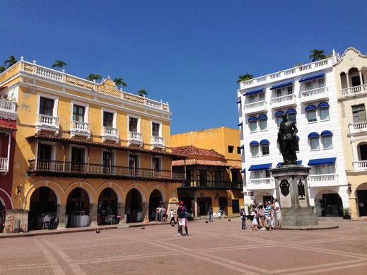 Wie ein Schmuckkästchen: Cartagena, Kolumbien (Foto Jörg Schwarz)
