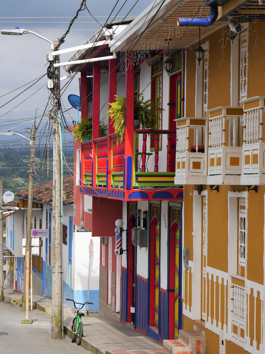 Es ist einfach ein riesen Vergnügen diese Stadt abzulaufen und in den Geschäften zu stöbern... Filandia, Kolumbien (Foto Jörg Schwarz)