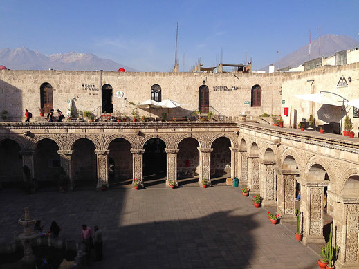 Arequipa wird uns fehlen... Arequipa, Peru (Foto Jörg Schwarz)