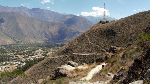 Ausblicke vom Cerro San Juan, Caraz, Peru (Foto Jörg Schwarz)