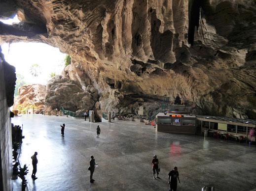 Und die sog. Kathedrale in der Kek Lok Tong Höhle... Ipoh, Malaysia (Foto Jörg Schwarz)