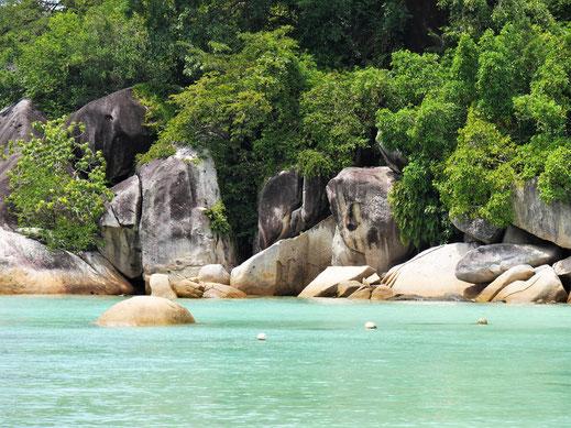 Erinnert schon ein bisschen an die Seychellen, oder? Pulau Perhentian Besar, Malaysia (Foto Jörg Schwarz)