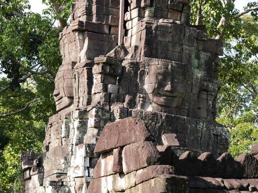 Verwunschen wirkende Tempel aus der Khmerzeit... Kambodscha (Foto Jörg Schwarz)