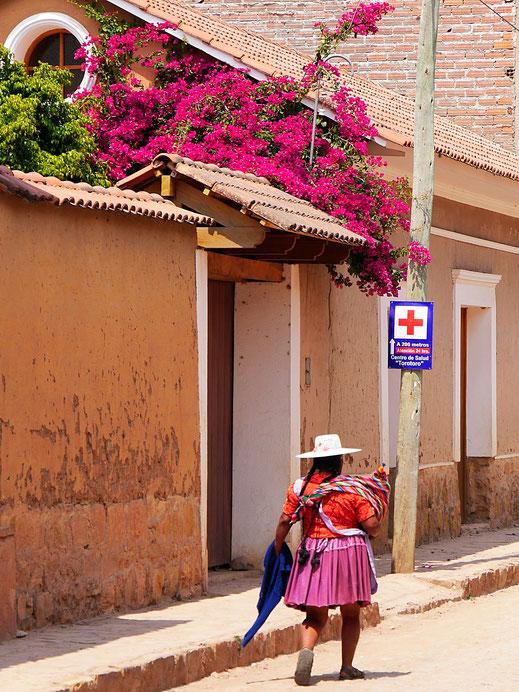 Straßenszene in Toro Toro, Toro Toro, Bolivien (Foto Jörg Schwarz)