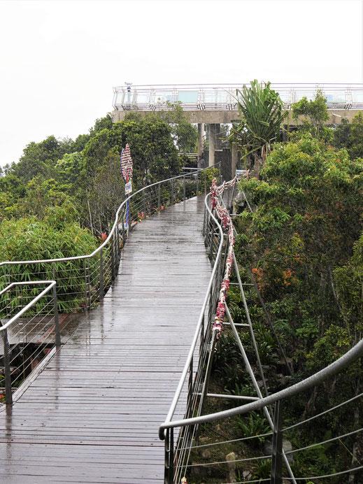 Jetzt im Regen hätte man die Natur für sich allein... Langkawi, Malaysia (Foto Jörg Schwarz)