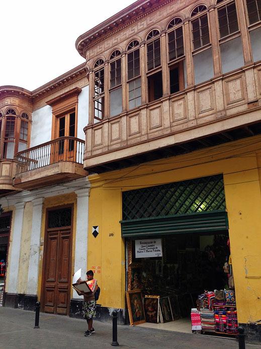 Im Stadtteil Centro, der Altstadt von Lima, Centro, Lima (Foto Jörg Schwarz)