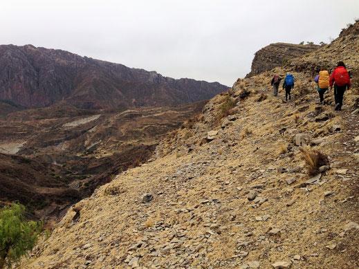 Schlechtes Wetter gibt es nicht, schon gar nicht in dieser Landschaft, Cordillera de los Frailes, Bolivien (Foto Jörg Schwarz)