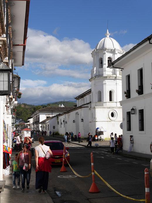 Alles hier ist weiß! Popayán, Kolumbien (Foto Jörg Schwarz)