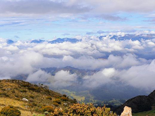 Atemberaubende Ausblicke... Monguí, Kolumbien (Foto Jörg Schwarz)