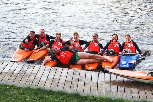 Unser Mixed-Team freut sich über ein gelungenes Wochenende