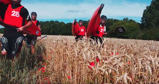 Standbild aus unserem Videobeitrag im großen Vereinswettbewerb »Glückspilze on Tour«.