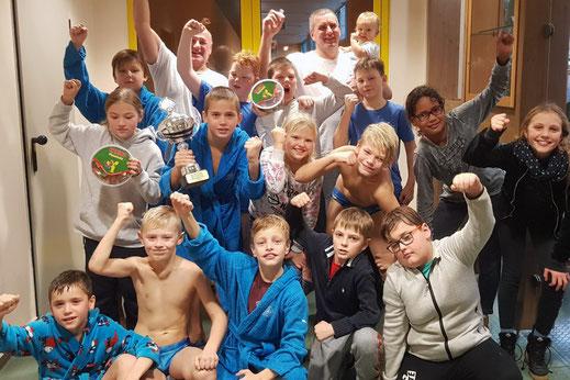 Das WSW-Team nach dem Sieg im Norddeutschen Minicup 2018