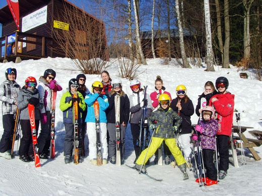 Die Teilnehmer der WSW Skifreizeit 2017 – Gruppe 2