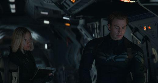 FANwerk Film Review Avengers Endgame Review Kritik Rezension Blog Iron Man Dies Captain America Thor Thanos Cap Nat in Space auf Thanos Suche