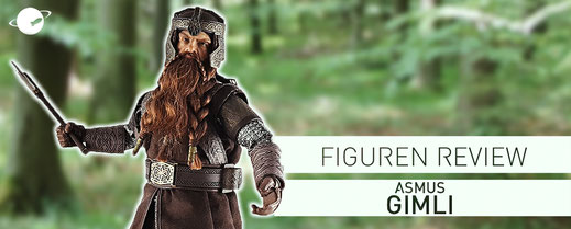Asmus Gimli Figuren Review Sixth Scale 1/6 Figure FANwerk Blog Lord of the Rings Herr der Ringe