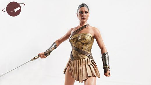 FANwerk Hot Toys Wonder Woman Training Armor Review
